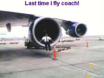 Last time I fly coach!